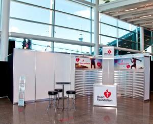 Peek Exhibition Heart Foundation Display