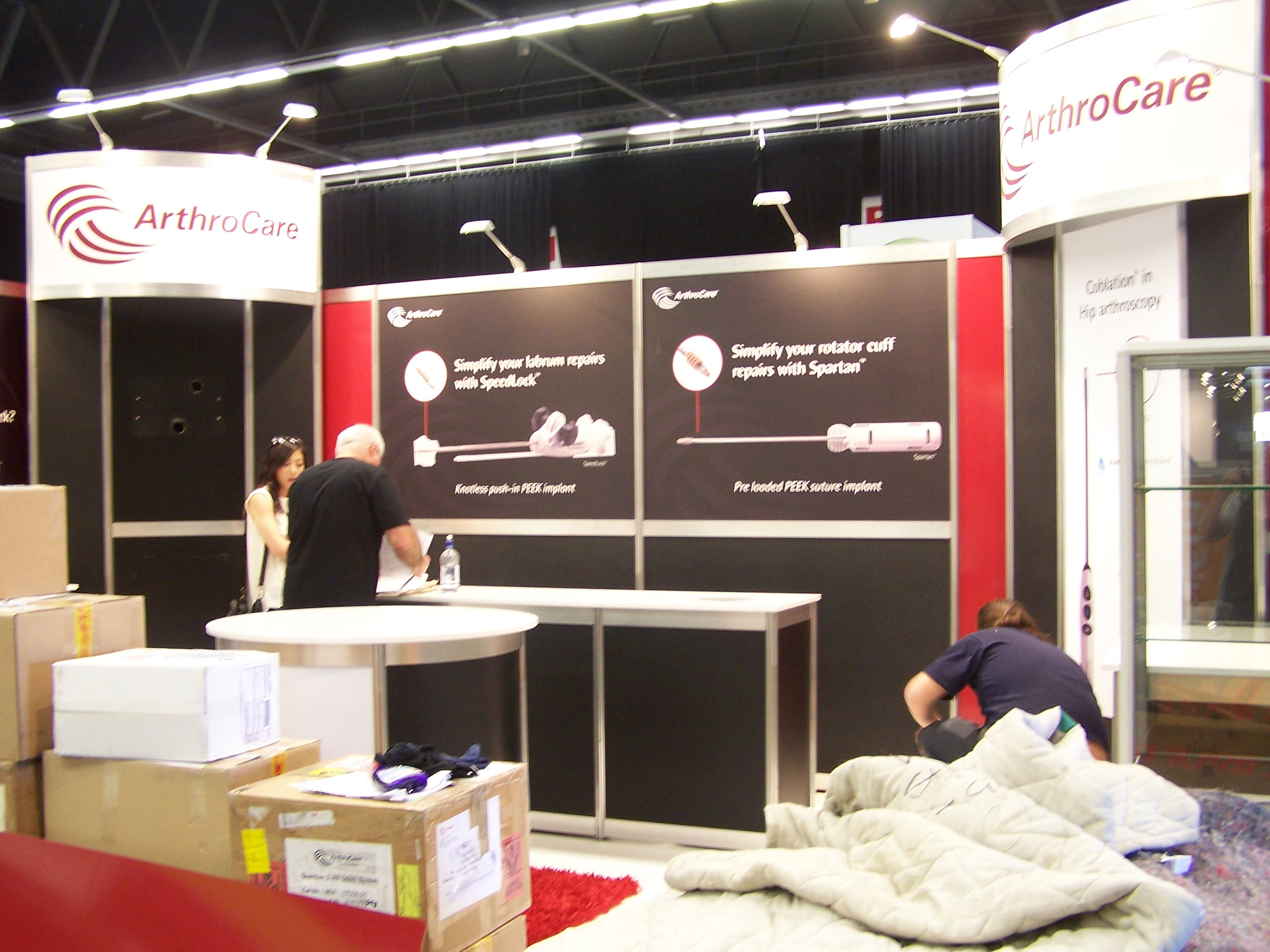 Exhibition Stand Builders Australia : Peek exhibition team building stands at nzaoa