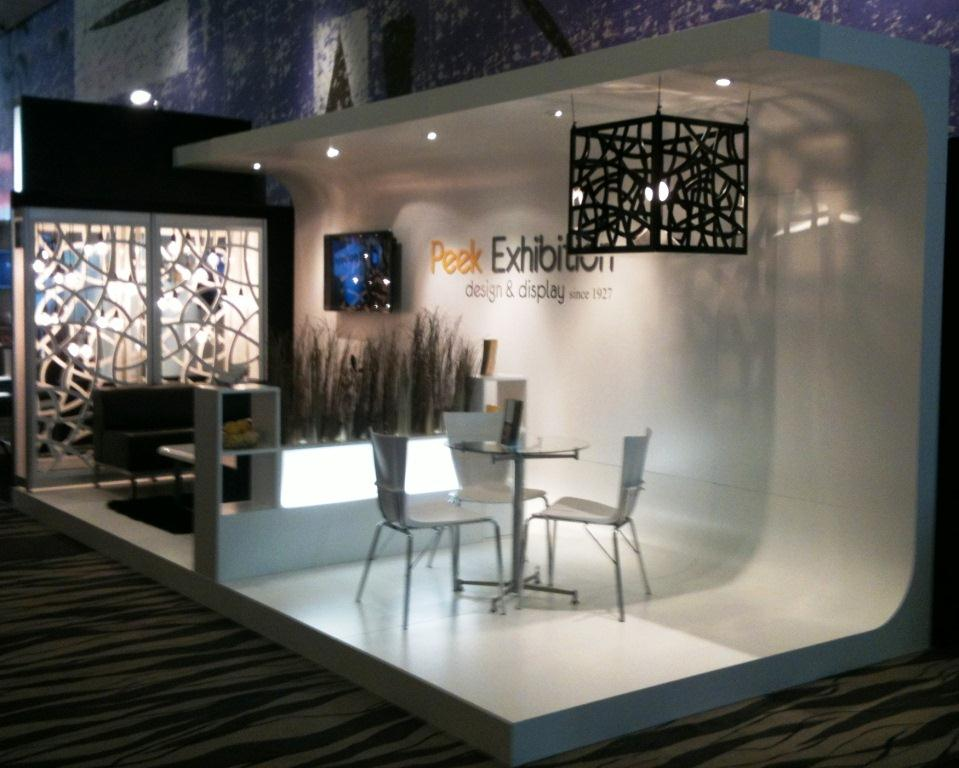 Exhibition Stand Design Furniture : Peek exhibition design and display hire