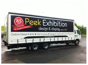 Peek Exhibition celebrates 85 years in display business